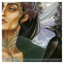 Raven King, work in progress, Soni Alcorn-Hender