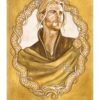Thor, sketch by Soni Alcorn-Hender