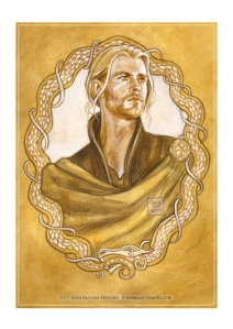 Thor, sketch by Soni Alcorn-Hender