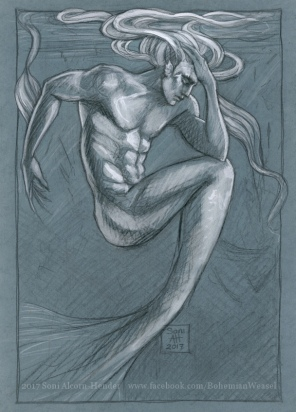 'Loss', merman sketch, Soni Alcorn-Hender