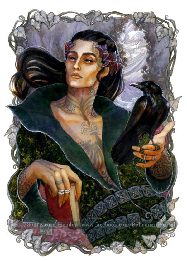 John Uskglass, the Raven King, Soni Alcorn-Hender