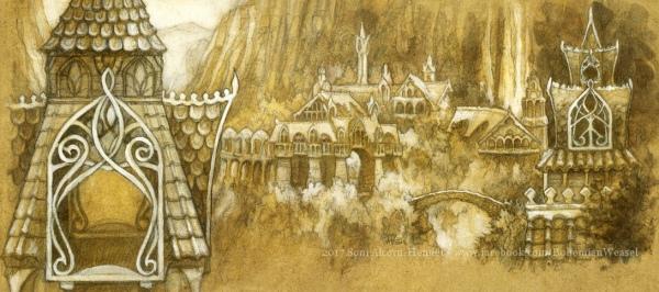 Rivendell panoramic postcard