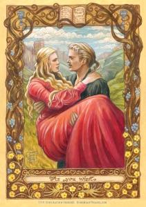 Princess Bride painting, Soni Alcorn-Hender