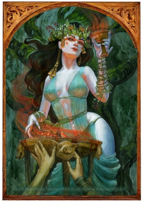 ´Circe, Goddess of Enchantment, Soni Alcorn-Hender