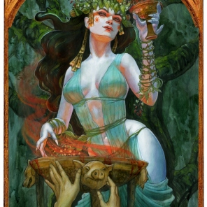 ´Circe, Goddess of Enchantment, Soni Alcorn-Hender