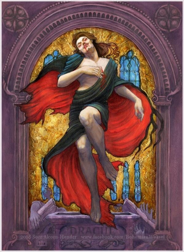 Dracula risen, Soni Alcorn-Hender