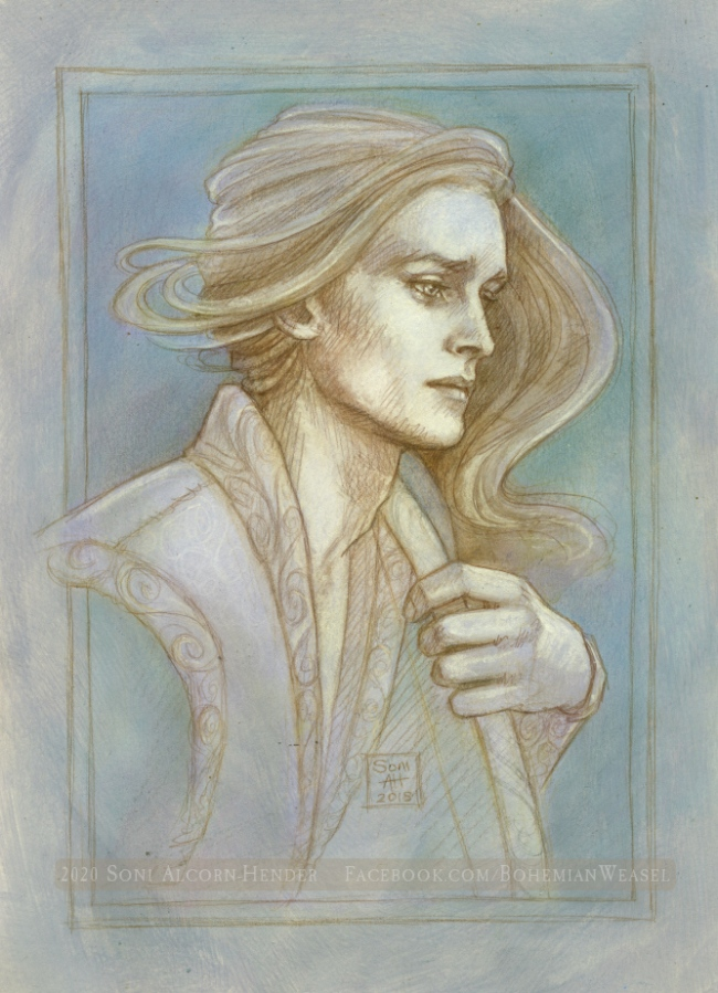 Legolas sketch, Soni Alcorn-Hender