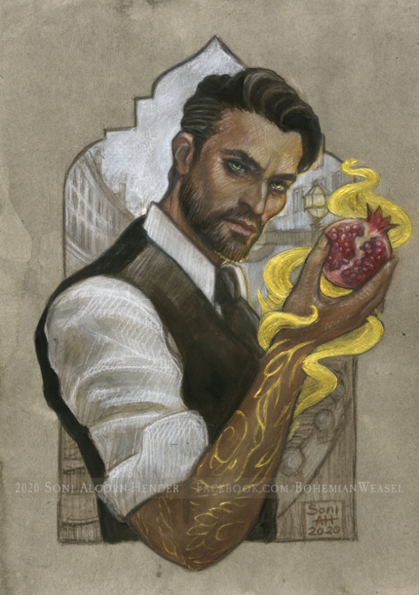 Original character: Samuel by Soni Alcorn-Hender