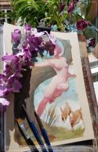 Spirit of Spring, WIP, Soni Alcorn-Hender
